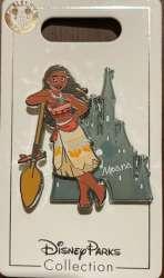 Princess Moana with Castle