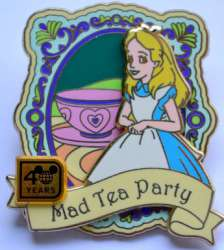 Alice at Mad Tea Party