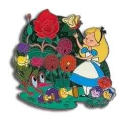 Alice in Wonderland in the Garden Mini Jumbo