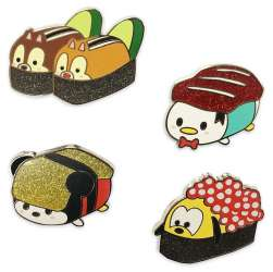 Mickey and Friends Sushi Flair Set
