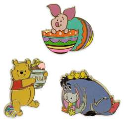 Winnie the Pooh Easter Flair Set