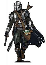 The Mandalorian with Child #736