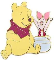 Pooh and Piglet Honey Pot Slider