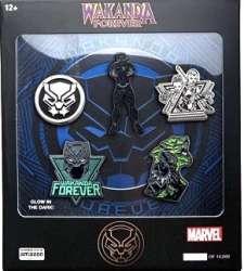 Black Panther Wakanda Forever 5 Pin Set