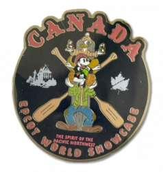 Canada Totem Mickey Donald Goofy