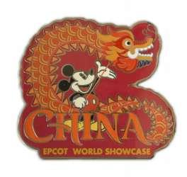 China Dragon Mickey Mouse