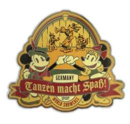 Germany Mickey and Minnie Mouse