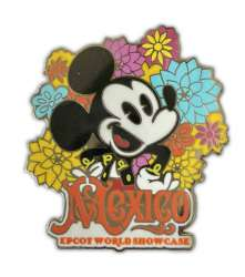 Mexico Mickey Mouse with Flowers