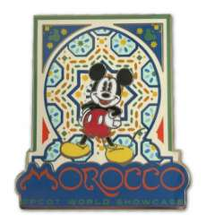 Morocco Mickey Mouse with Mosaic Tiles