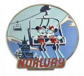 Norway Mickey and Minnie Ski Lift