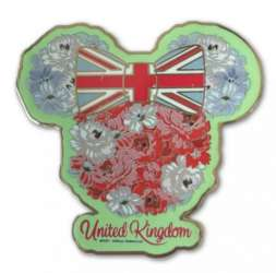 Minnie Mouse Flower Union Jack Head