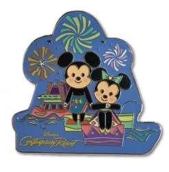 WDW Contemporary Resort Mickey and Minnie Fireworks