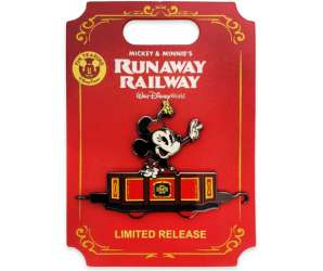 Minnie Mouse Pin – Mickey & Minnie's Runaway Railway – Limited Release