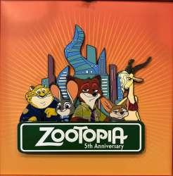 WDI - Zootopia 5th Anniversary - Cast Jumbo