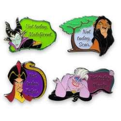 Maleficent, Scar, Jafar & Ursula
