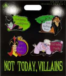 Disney Villains Not Today Set