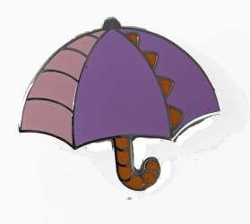 Magical Mystery 17 Umbrella