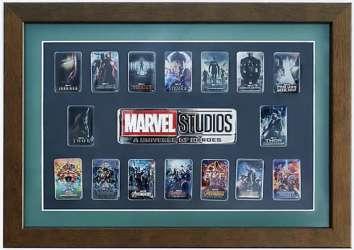 Marvel Studios: A Universe of Heroes Framed Set
