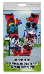Mickey Mouse & Friends My First Pin Trading Starter Set