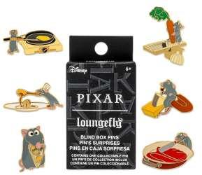Loungefly - Pixar Ratatouille Blind Box Pin