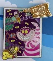 Cheshire Cat visits Tulgey Wood