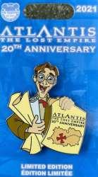 Atlantis: The Lost Empire 20th Anniversary