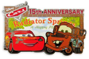 DS - Cars 15th Anniversary - Lightning McQueen and Tow Mater