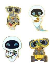 Funko Pop Loungefly Wall-E Four Pin Set