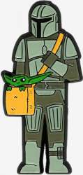 Mando with Bag
