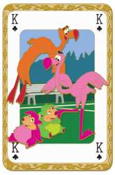 Flamingos and Hedgehogs