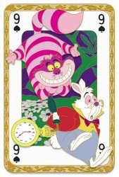 Cheshire Cat and White Rabbit