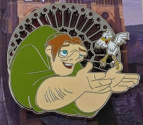 Quasimodo with a Bird