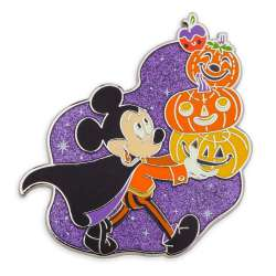 Mickey Mouse Pumpkin Stack