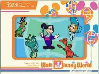 D23 - Walt Disney World 50th Anniversary - A Magical Kingdom Set
