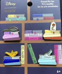 Loungefly - Disney Princess Books Set
