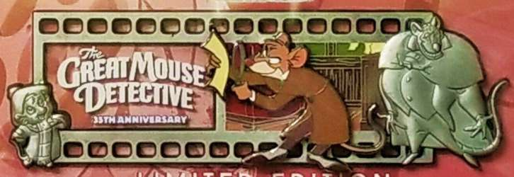 The Great Mouse Detective 35th Anniversary