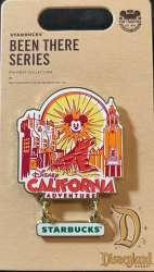 DCA - Starbucks Been There Series - Disney California Adventure