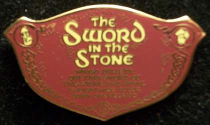 Annual Passholder Exclusive - The Sword in the Stone 2-Pin Set