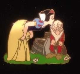 Snow White Kissing Grumpy