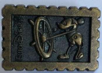 EuroDisney - Steamboat Willie Stamp