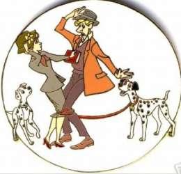 Roger, Anita, Pongo and Perdita