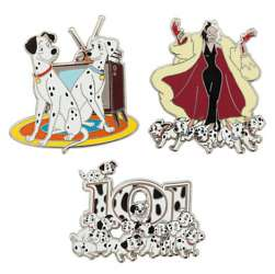 Cruella DeVil, Pongo,  Perdita and Puppies