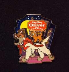Oliver riding Dodger's back