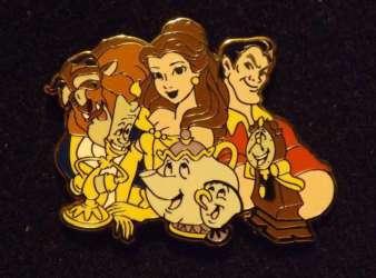 Belle, Gaston, Beast, and Friends