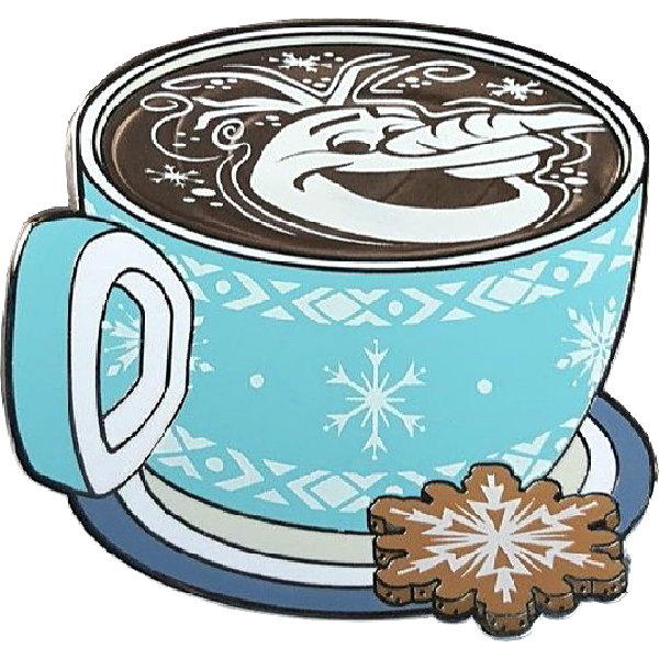 (7113) Lattes With Character - Olaf - MLT