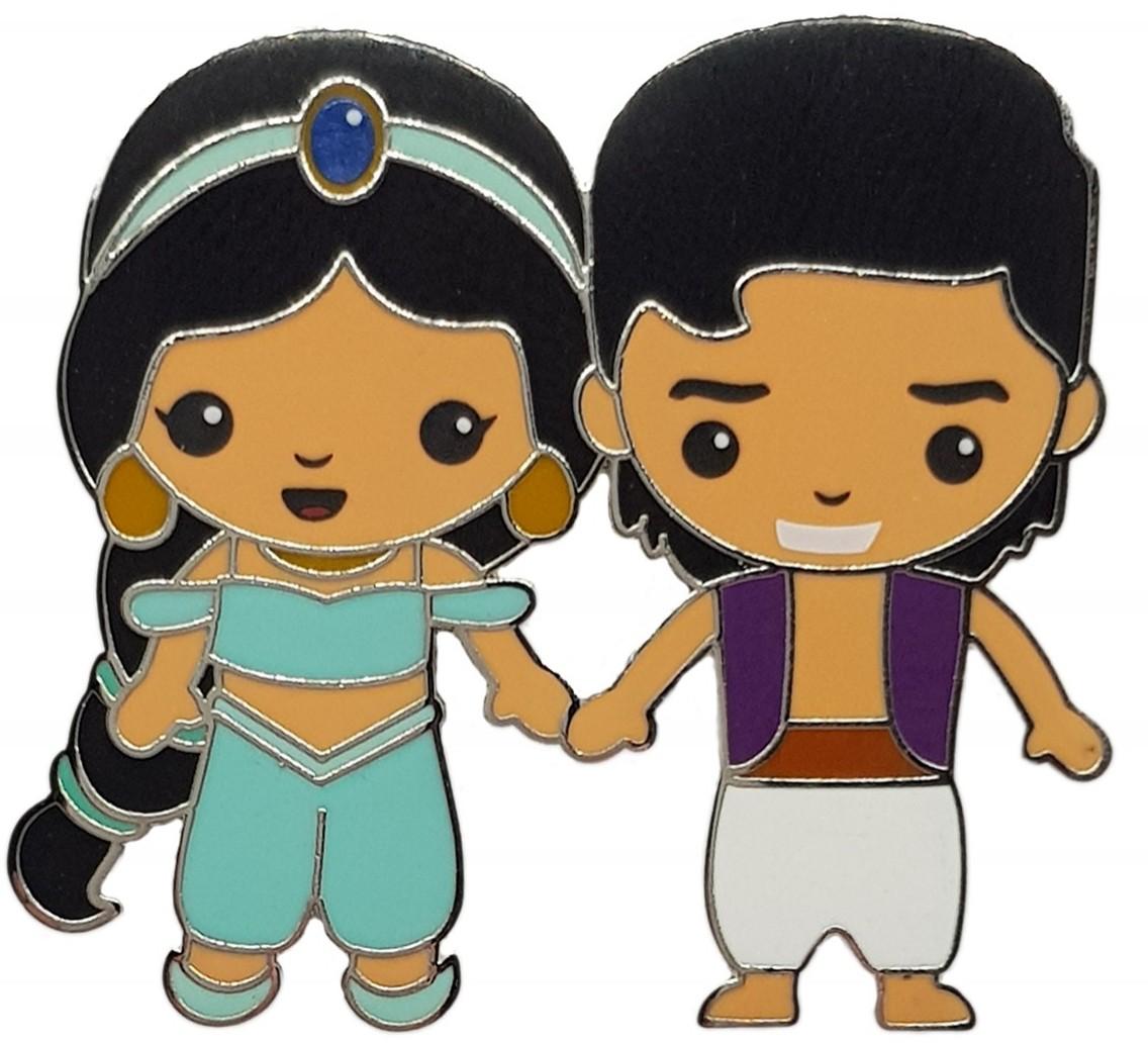 Jasmine with Prince Aladdin