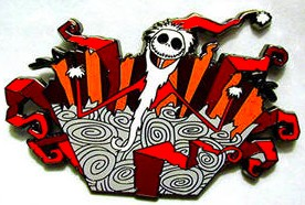Pin #14 - Jack as Sandy Claws