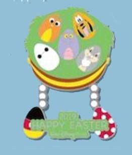 Baymax, Pluto, Figment, Thumper and Orange Bird