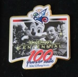 WDW - 100 Years of Magic Press Event Set - Walt Disney's Centennial