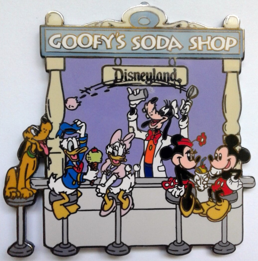Goofy's Soda Shop